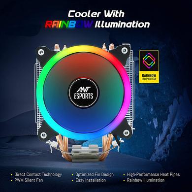 CPU COOLER ANT ESPORTS ICE-C612-1