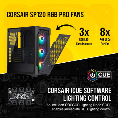 CABINET CORSAIR I-CUE 220T-3