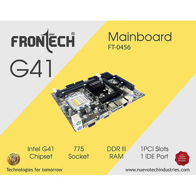 MOTHERBOARD FRONTECH G41 DDR2-CAS-MB-56