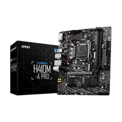 MOTHERBOARD MSI H410M-A PRO-CAS-MB-62