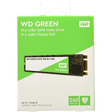 WD GREEN M.2 240GB-CAS-SSD-24
