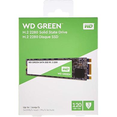 WD GREEN M.2 120GB-CAS-SSD-25