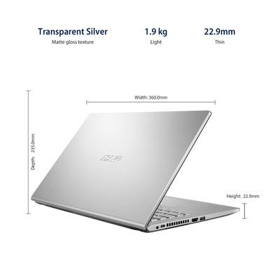 ASUS VivoBook AMD Quad Core Ryzen 5-3500U(4GB RAM/256GB SSD/Win10+Ms Off H&S 2019+McAfee/Integrated Vega 8 Graphics/15.6-inch FHD IPS/ (M515DA-BQ522TS)-3