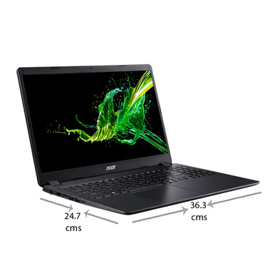 Acer A315-56 Aspire 3 Thin Laptop (10th Gen Intel Core i3-1005G1/4 GB/1 TB HDD/Integrated Graphics/Windows 10/MSO/FHD), 39.62 cm (15.6 inch)-1