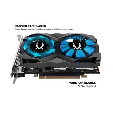 ZOTAC GeForce GTX 1660 Super Twin Fan 6GB GDDR6 192-bit Super Compact Gaming Graphics Card-2