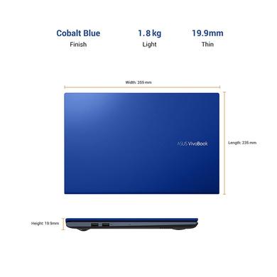 "ASUS VivoBook Ultra 15 (2020) Intel Core i3-1115G4 11th Gen, 15.6"" (39.62 cm) FHD Thin and Light Laptop (8GB RAM/256GB NVMe SSD/Windows 10/Office 2019/Integrated Graphics/1.8 Kg) X513EA-BQ311TS-3"
