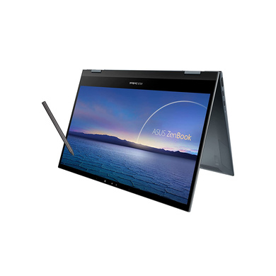 """ASUS ZenBook Flip 13 OLED, Intel Core i5-1135G7 11th Gen, 13.3"""" FHD Touch 2-in-1 Laptop (8GB/512GB SSD + 32GB Optane Memory/Windows 10/Office 2019/Iris Xᵉ Graphics/1.3 kg), UX363EA-HP501TS-CAS-LAP-202"""