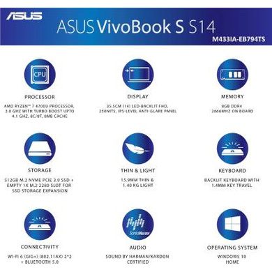 Asus VivoBook S14 (M433IA-EB794TS)-5