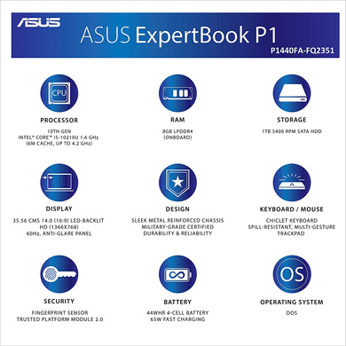 ASUS ExpertBook (P1440FA-FQ2351)-5