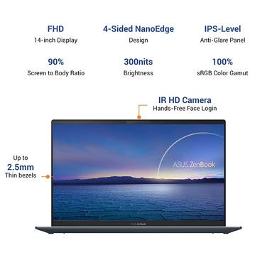 ASUS ZenBook 14 (2020) Intel Core i5-11th Gen(UX425EA-BM501TS)-1