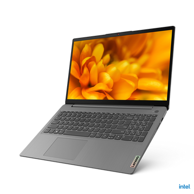 "Lenovo IdeaPad Slim3i 15ITL6 i5-11th Gen 8GB 256SSD 15.6"" Inch Iris Xe Graphics Arctic Grey (82H801CSIN)-82H801CSIN"