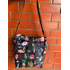 Black Cactus Lunch Bag with Nylon Strap-LBBLACACT-sm