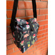 Black Cactus Lunch Bag with Nylon Strap-1-sm