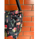 Black Cactus Lunch Bag with Nylon Strap-3-sm