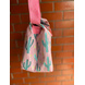 Pink Cactus Lunch Bag with Nylon Strap-1-sm