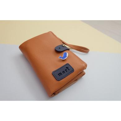 Camel Leather Gadget Pouch-CAMELGP