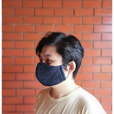 Denim Face Mask-Large-1