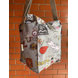 Grey Travel Lunch Bag with Nylon Strap-2-sm