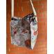 Grey Travel Lunch Bag with Nylon Strap-1-sm