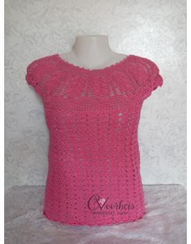 Lotus Crochet Top