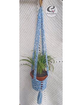 Hanging Crochet Basket