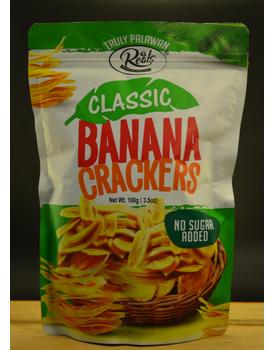 Banana Crackers Classic  No Sugar Added