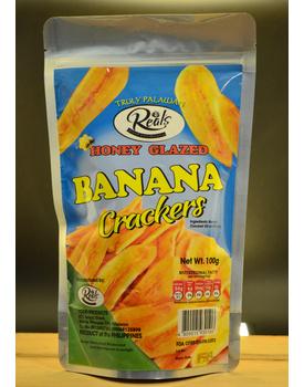 Banana Crackers Honey Glazed