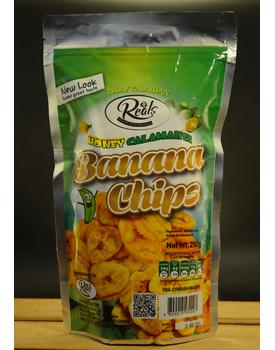 Banana Chips Honey-Calamansi