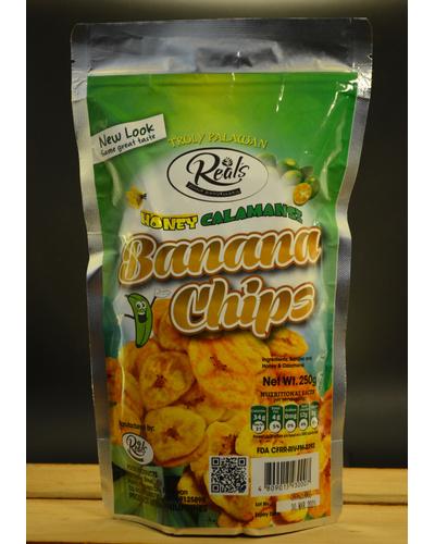 Banana Chips Honey-Calamansi-BCC250G