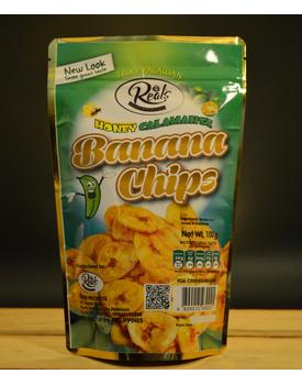 Banana Chips with Honey-Calamansi