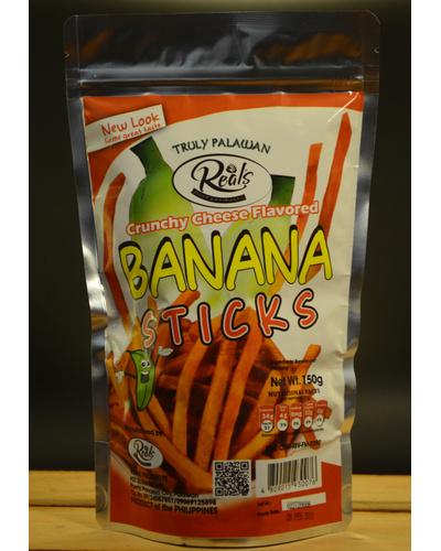 Banana Sticks Cheese Flavor-BSC150G