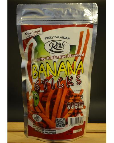 Banana Sticks Barbeque Flavor-BSB150G