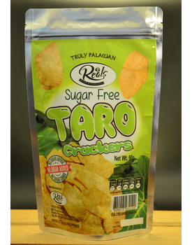 Taro Crackers Sugar Free