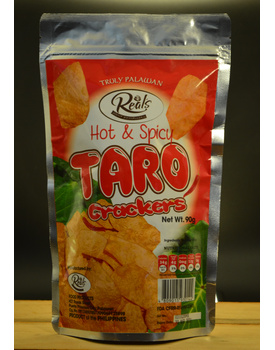 Taro Crackers Hot and Spicy