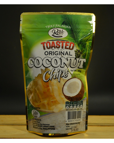 Toasted Coconut Chips Original-TCC50G