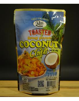 Toasted Coconut chips Honey Glazed