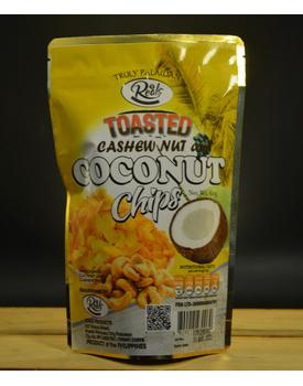 Toasted Coconut Chips Honey Glazed w/ Cashew Nuts