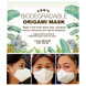 (Medium - 3 Pcs.) 100% Biodegradable Abaca Origami Face Mask-5-sm