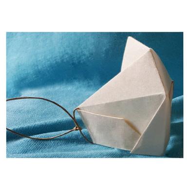(Large - 3 Pcs.) 100% Biodegradable Abaca Origami Face Mask-3