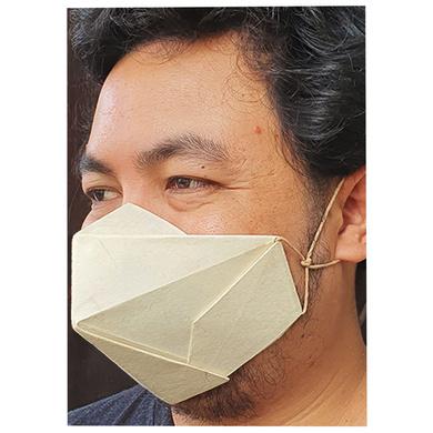 (Large - 3 Pcs.) 100% Biodegradable Abaca Origami Face Mask-6