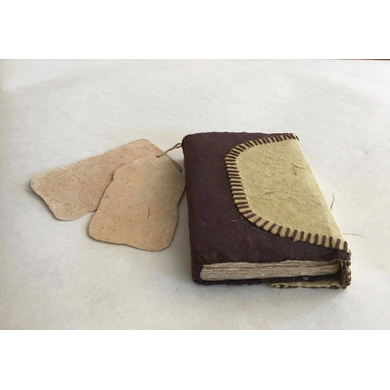 Journal Nomad - Small with TAG (50 PAGES, 80 GSM)-JNS-01