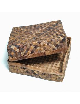 """Abaca Multipurpose Box (10"""" x 10"""" x 3"""")-AMB1R-sm"""