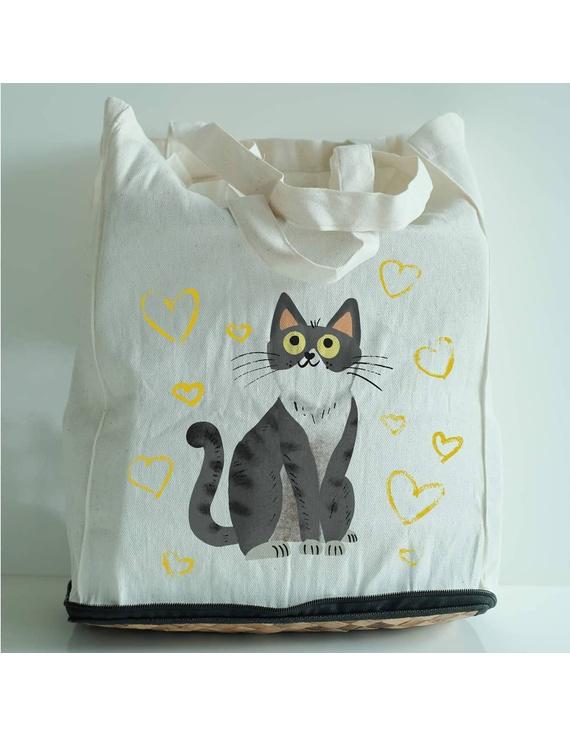 Alpas Eco Foldable Bag, Handpainted-FB1H