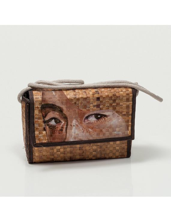 Eco Sling Bag, Handpainted-ESB1H