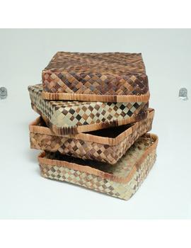Abaca Eco Multipurpose Boxes (Set)-AEMB1S-sm