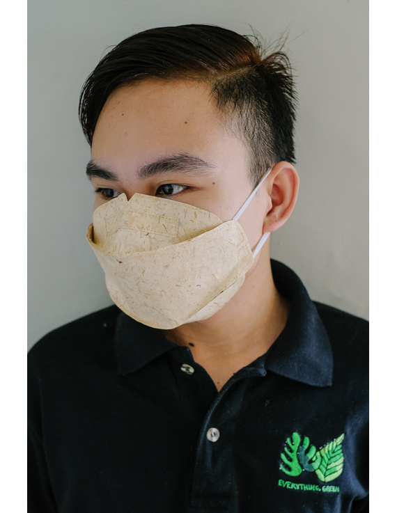 Biodegradable Abaca-Bamboo Face Mask (set of 10 pieces)-ABM1