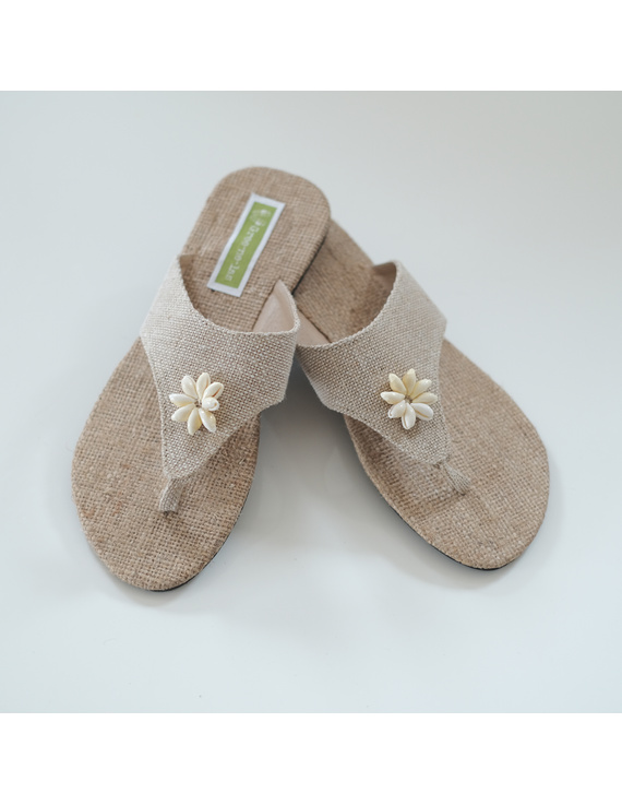 *SALE* Kañamo Thong with Shells for ladies-KTS-2