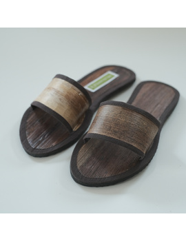 *SALE - Buy 1 Take 1* Gree-ne-las Basic Slides with leather piping (without rubber sole), unisex-BSU2-1-sm