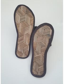 *SALE* Gree-ne-las Basic Slides, woven sawali outsole, ladies' cut-BSWOL-2-sm