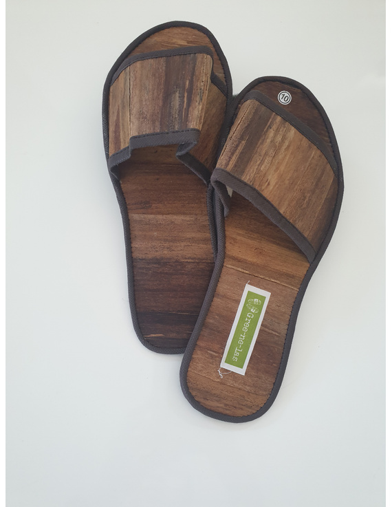 *SALE* Gree-ne-las Basic Slides, woven sawali outsole, ladies' cut-10-1
